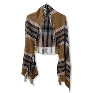 Tan Wrap, Scarf, Tie-Around Skirt